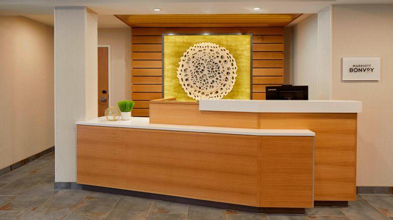 "<b>Fairfield Inn & Suites Albany Airport Lobby</b>. Images powered by <a href=""https://leonardo.com/"" title=""Leonardo Worldwide"" target=""_blank"">Leonardo</a>."