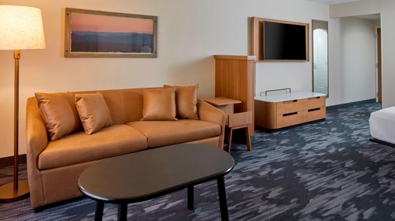 "<b>Fairfield Inn & Suites Albany Airport Suite</b>. Images powered by <a href=""https://leonardo.com/"" title=""Leonardo Worldwide"" target=""_blank"">Leonardo</a>."