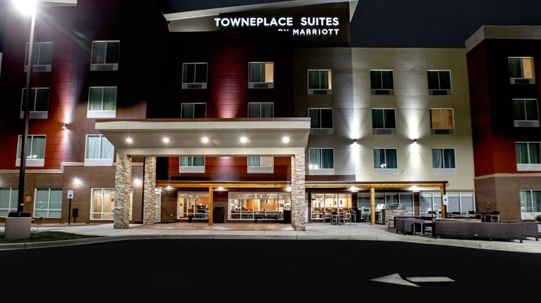"""TownePlace Suites Louisville Airport Exterior. Images powered by <a href=""""http://www.leonardo.com"""" target=""""_blank"""" rel=""""noopener"""">Leonardo</a>."""