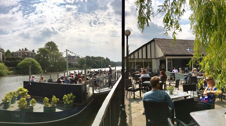 """Boathouse and Riverside Rooms Exterior. Images powered by <a href=""""http://www.leonardo.com"""" target=""""_blank"""" rel=""""noopener"""">Leonardo</a>."""