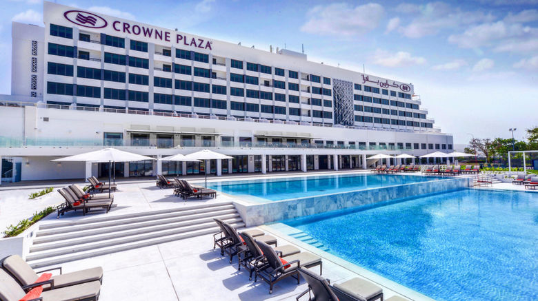 "Crowne Plaza Hotel Muscat Exterior. Images powered by <a href=""http://www.leonardo.com"" target=""_blank"" rel=""noopener"">Leonardo</a>."