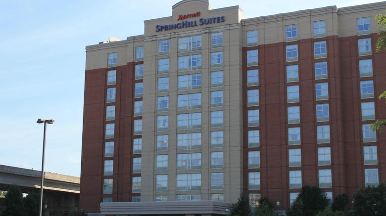 """SpringHill Suites Pittsburgh North Shore Exterior. Images powered by <a href=""""http://www.leonardo.com"""" target=""""_blank"""" rel=""""noopener"""">Leonardo</a>."""