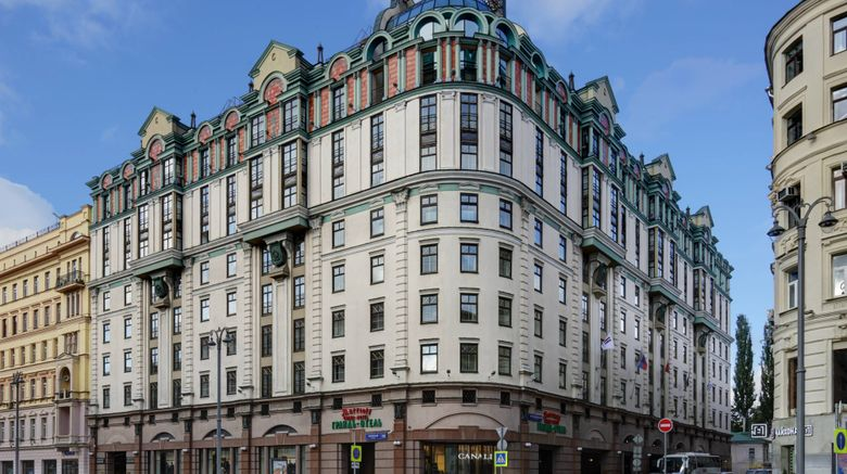 "Moscow Marriott Grand Hotel Exterior. Images powered by <a href=""http://www.leonardo.com"" target=""_blank"" rel=""noopener"">Leonardo</a>."