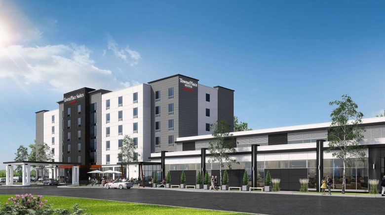 """TownePlace Suites  and  Conference Center Exterior. Images powered by <a href=""""http://www.leonardo.com"""" target=""""_blank"""" rel=""""noopener"""">Leonardo</a>."""
