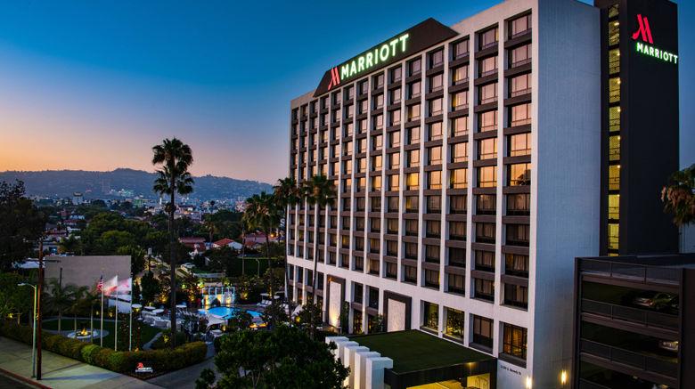 "Beverly Hills Marriott Exterior. Images powered by <a href=""http://www.leonardo.com"" target=""_blank"" rel=""noopener"">Leonardo</a>."
