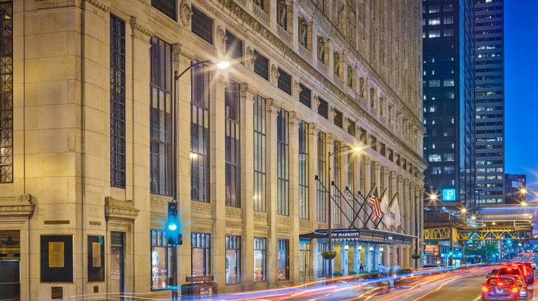"JW Marriott Chicago Exterior. Images powered by <a href=""http://www.leonardo.com"" target=""_blank"" rel=""noopener"">Leonardo</a>."