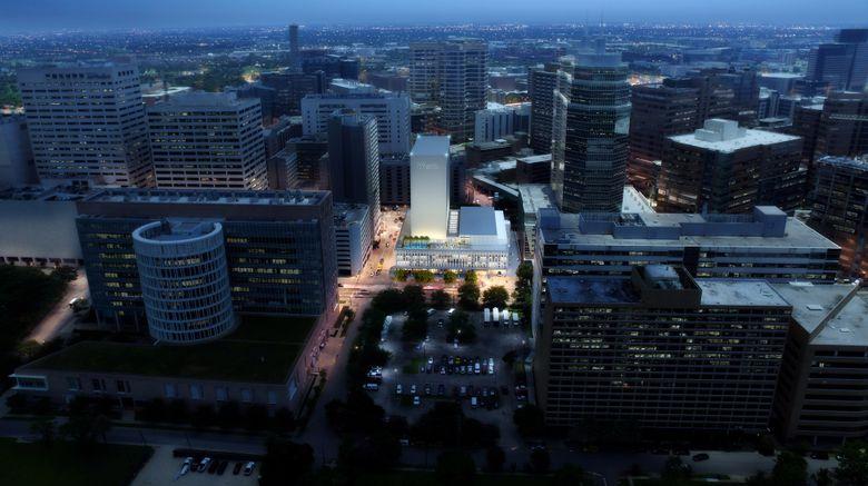 "The Westin Houston Medical Center Exterior. Images powered by <a href=""http://www.leonardo.com"" target=""_blank"" rel=""noopener"">Leonardo</a>."