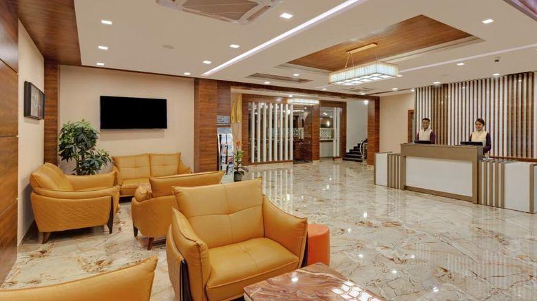"""The Fern Residency Bhuj Lobby. Images powered by <a href=""""http://www.leonardo.com"""" target=""""_blank"""" rel=""""noopener"""">Leonardo</a>."""