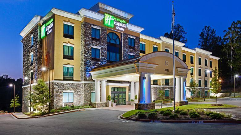 "Holiday Inn Express Htl  and  Stes Univ Area Exterior. Images powered by <a href=""http://www.leonardo.com"" target=""_blank"" rel=""noopener"">Leonardo</a>."