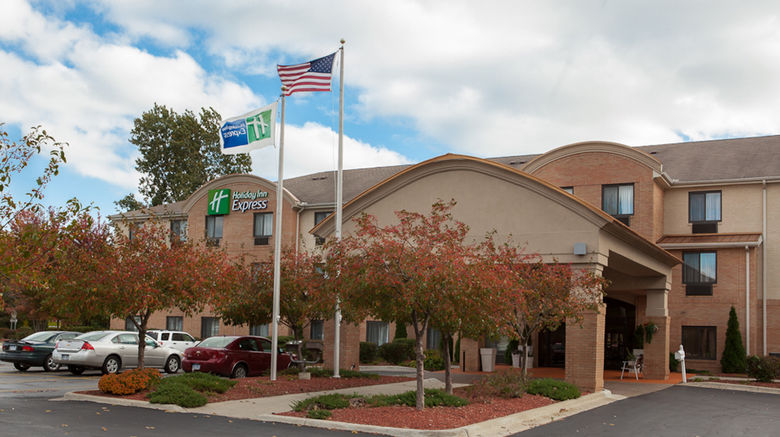 """Holiday Inn Express  and  Suites Canton Exterior. Images powered by <a href=""""http://www.leonardo.com"""" target=""""_blank"""" rel=""""noopener"""">Leonardo</a>."""