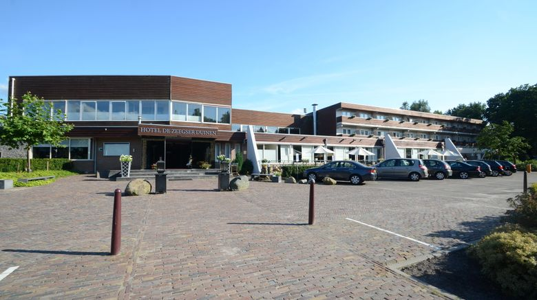 "Fletcher Hotel De Zeegser Duinen Exterior. Images powered by <a href=""http://www.leonardo.com"" target=""_blank"" rel=""noopener"">Leonardo</a>."