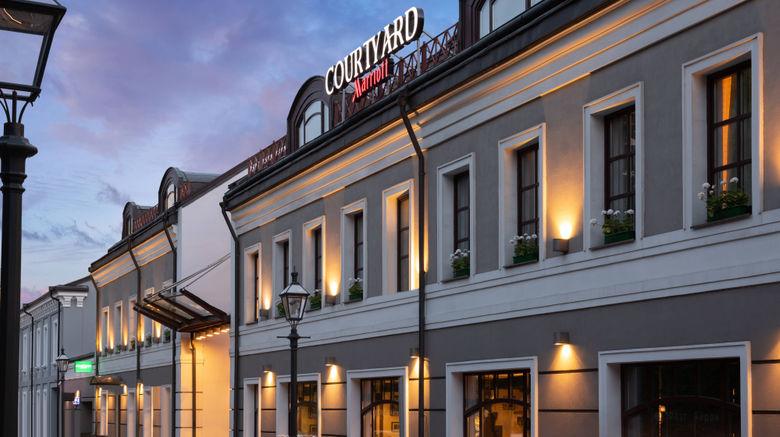 "Courtyard by Marriott Moscow City Center Exterior. Images powered by <a href=""http://www.leonardo.com"" target=""_blank"" rel=""noopener"">Leonardo</a>."