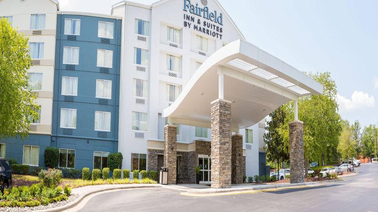 "Fairfield Inn/Suites Raleigh-Durham Arpt Exterior. Images powered by <a href=""http://www.leonardo.com"" target=""_blank"" rel=""noopener"">Leonardo</a>."