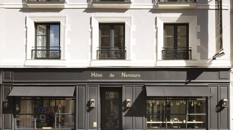 """Hotel de Nemours Exterior. Images powered by <a href=""""http://www.leonardo.com"""" target=""""_blank"""" rel=""""noopener"""">Leonardo</a>."""