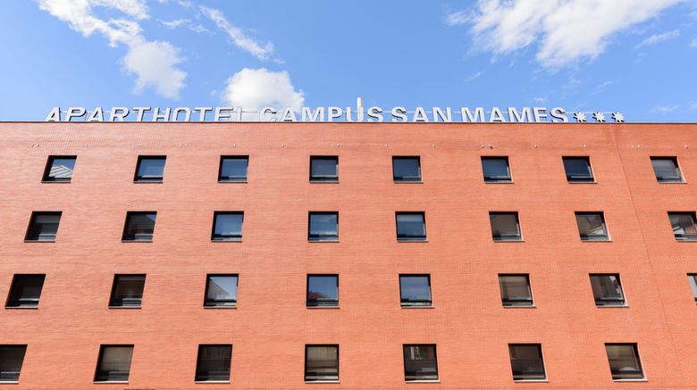 "Apartahotel Exe Campus San Mames Exterior. Images powered by <a href=""http://www.leonardo.com"" target=""_blank"" rel=""noopener"">Leonardo</a>."