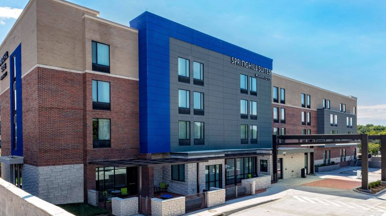 """SpringHill Suites Country Club District Exterior. Images powered by <a href=""""http://www.leonardo.com"""" target=""""_blank"""" rel=""""noopener"""">Leonardo</a>."""