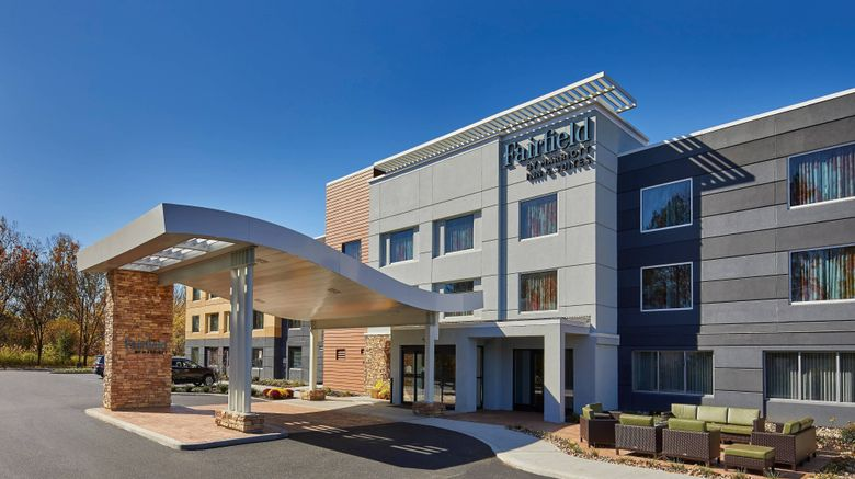 "<b>Fairfield Inn & Suites Albany Airport Exterior</b>. Images powered by <a href=""https://leonardo.com/"" title=""Leonardo Worldwide"" target=""_blank"">Leonardo</a>."