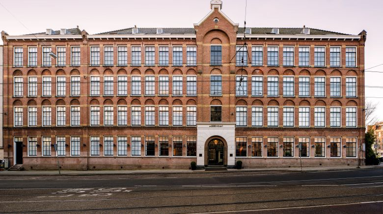 "Sir Albert Hotel Amsterdam Exterior. Images powered by <a href=""http://www.leonardo.com"" target=""_blank"" rel=""noopener"">Leonardo</a>."