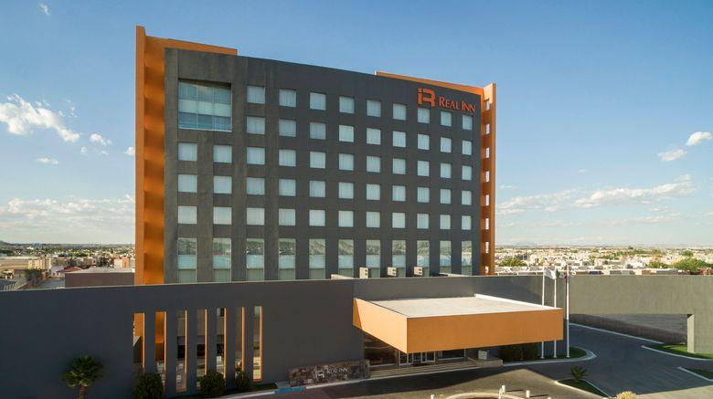 "Real Inn Ciudad Juarez Exterior. Images powered by <a href=""http://www.leonardo.com"" target=""_blank"" rel=""noopener"">Leonardo</a>."