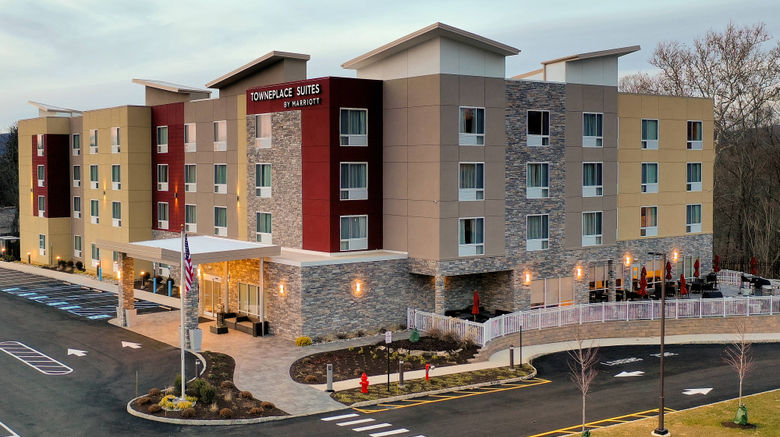 """TownePlace Suites Clinton Exterior. Images powered by <a href=""""http://www.leonardo.com"""" target=""""_blank"""" rel=""""noopener"""">Leonardo</a>."""