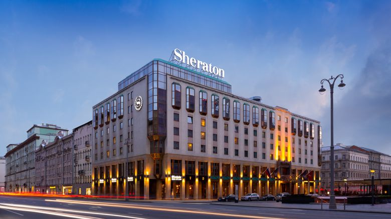 """Sheraton Palace Hotel, Moscow Exterior. Images powered by <a href=""""http://www.leonardo.com"""" target=""""_blank"""" rel=""""noopener"""">Leonardo</a>."""