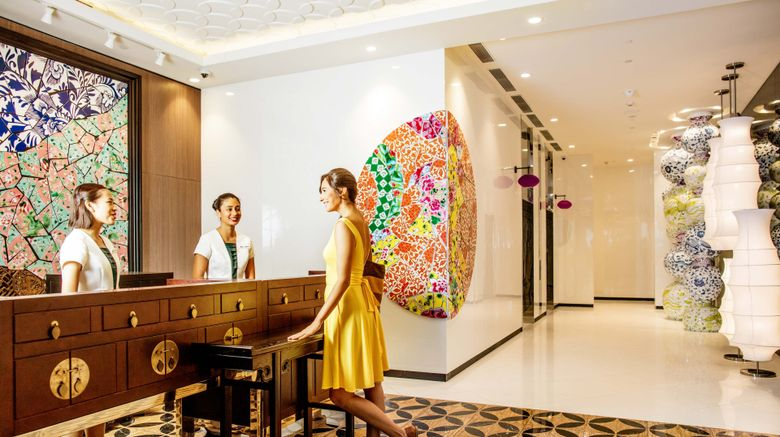 """Hotel Indigo Singapore Katong Exterior. Images powered by <a href=""""http://www.leonardo.com"""" target=""""_blank"""" rel=""""noopener"""">Leonardo</a>."""