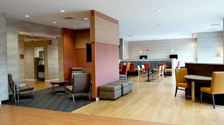 """TownePlace Suites Ames Lobby. Images powered by <a href=""""http://www.leonardo.com"""" target=""""_blank"""" rel=""""noopener"""">Leonardo</a>."""