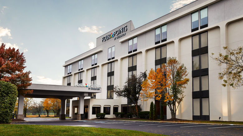 """Four Points by Sheraton Westchester Exterior. Images powered by <a href=""""http://www.leonardo.com"""" target=""""_blank"""" rel=""""noopener"""">Leonardo</a>."""