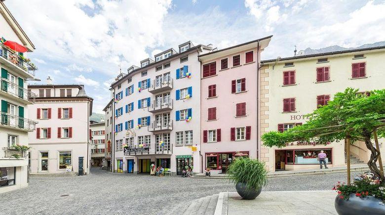 "Hotel Stockalperhof Exterior. Images powered by <a href=""http://www.leonardo.com"" target=""_blank"" rel=""noopener"">Leonardo</a>."