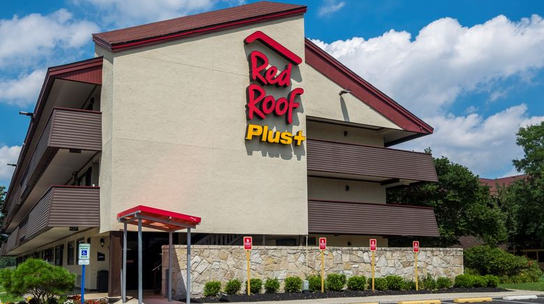 """Red Roof PLUS+ Secaucus-Meadowlands -NYC Exterior. Images powered by <a href=""""http://www.leonardo.com"""" target=""""_blank"""" rel=""""noopener"""">Leonardo</a>."""
