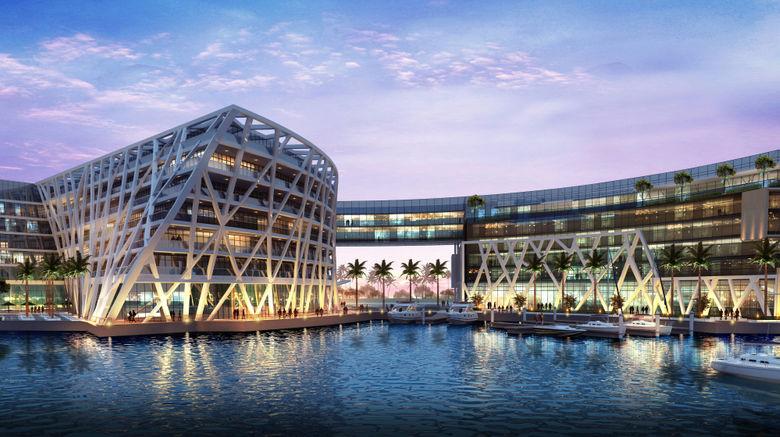 "The Abu Dhabi EDITION Exterior. Images powered by <a href=""http://www.leonardo.com"" target=""_blank"" rel=""noopener"">Leonardo</a>."
