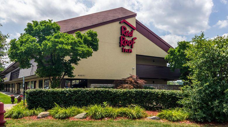 """Red Roof Inn Detroit Metro - Belleville Exterior. Images powered by <a href=""""http://www.leonardo.com"""" target=""""_blank"""" rel=""""noopener"""">Leonardo</a>."""