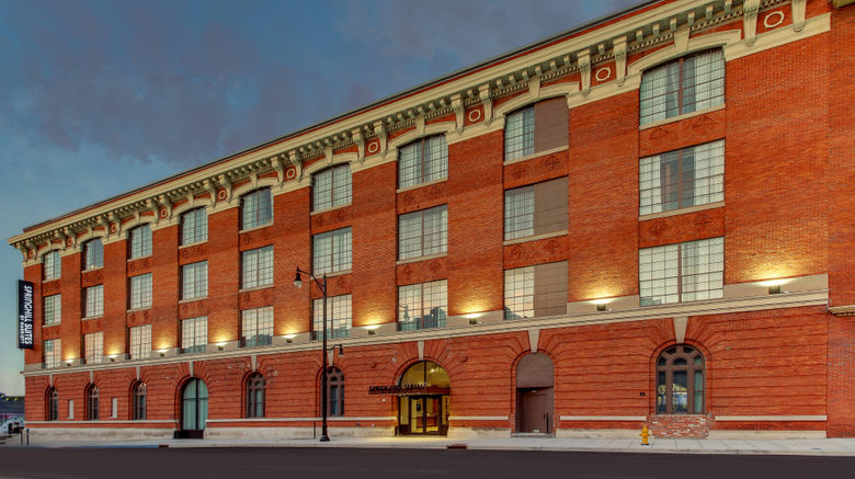 """SpringHill Suites Montgomery Downtown Exterior. Images powered by <a href=""""http://www.leonardo.com"""" target=""""_blank"""" rel=""""noopener"""">Leonardo</a>."""