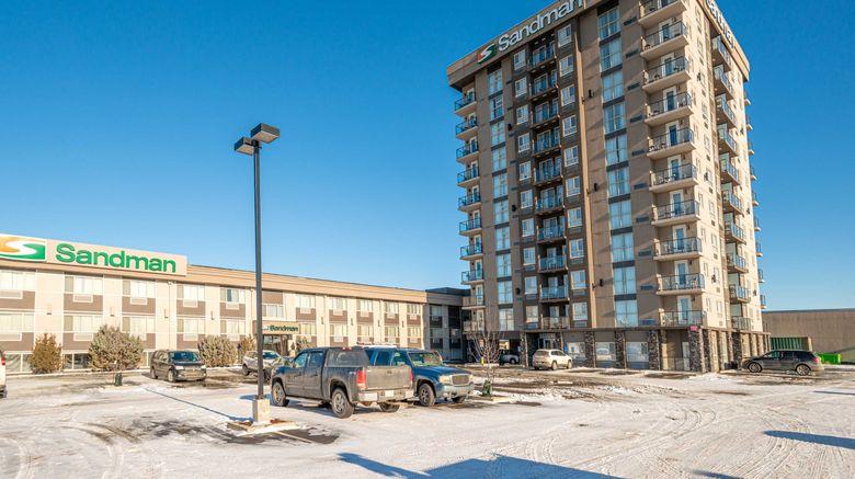 "Sandman Hotel West Edmonton Exterior. Images powered by <a href=""http://www.leonardo.com"" target=""_blank"" rel=""noopener"">Leonardo</a>."