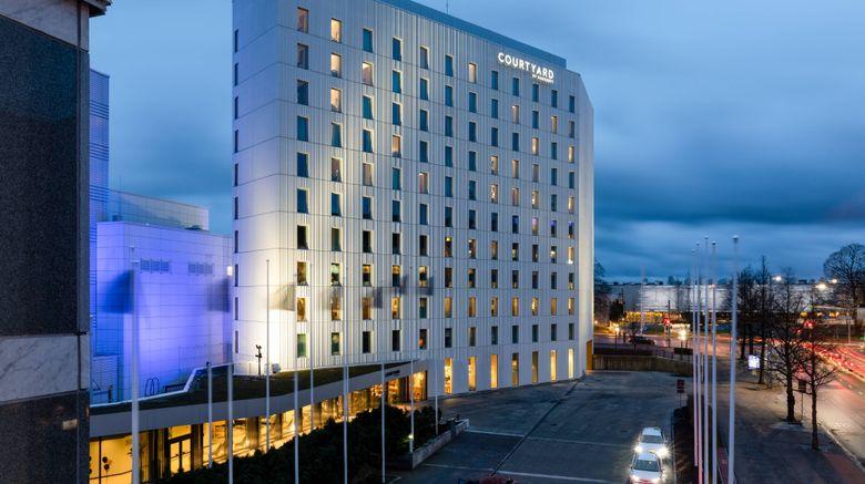 "Courtyard Tampere City Exterior. Images powered by <a href=""http://www.leonardo.com"" target=""_blank"" rel=""noopener"">Leonardo</a>."