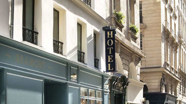 "Hotel Gramont Opera Exterior. Images powered by <a href=""http://www.leonardo.com"" target=""_blank"" rel=""noopener"">Leonardo</a>."