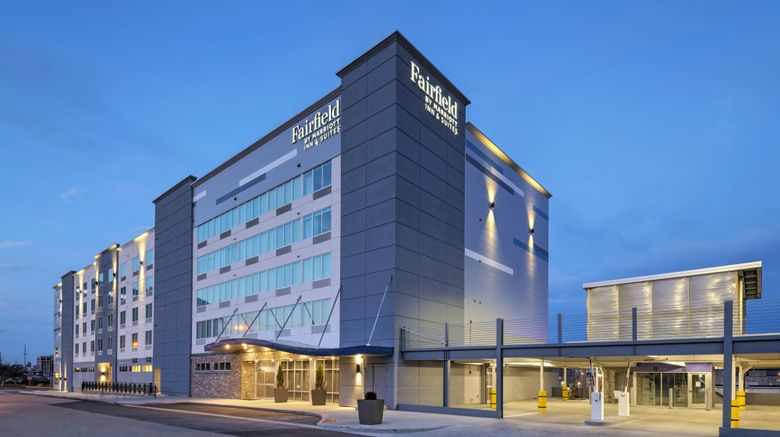 """Fairfield Inn  and  Suites St Louis Downtown Exterior. Images powered by <a href=""""http://www.leonardo.com"""" target=""""_blank"""" rel=""""noopener"""">Leonardo</a>."""