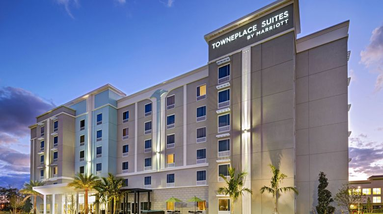 """TownePlace Suites by Marriott Naples Exterior. Images powered by <a href=""""http://www.leonardo.com"""" target=""""_blank"""" rel=""""noopener"""">Leonardo</a>."""