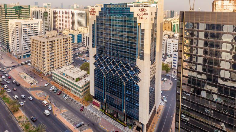 "Crowne Plaza Abu Dhabi Exterior. Images powered by <a href=""http://www.leonardo.com"" target=""_blank"" rel=""noopener"">Leonardo</a>."