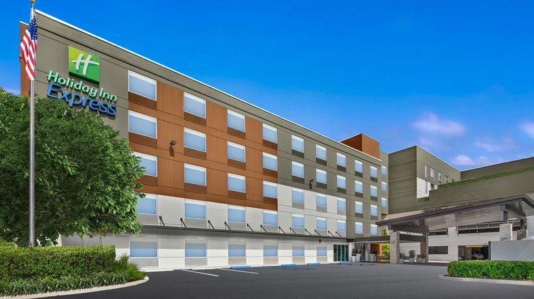 "Holiday Inn Express Convention Center Exterior. Images powered by <a href=""http://www.leonardo.com"" target=""_blank"" rel=""noopener"">Leonardo</a>."