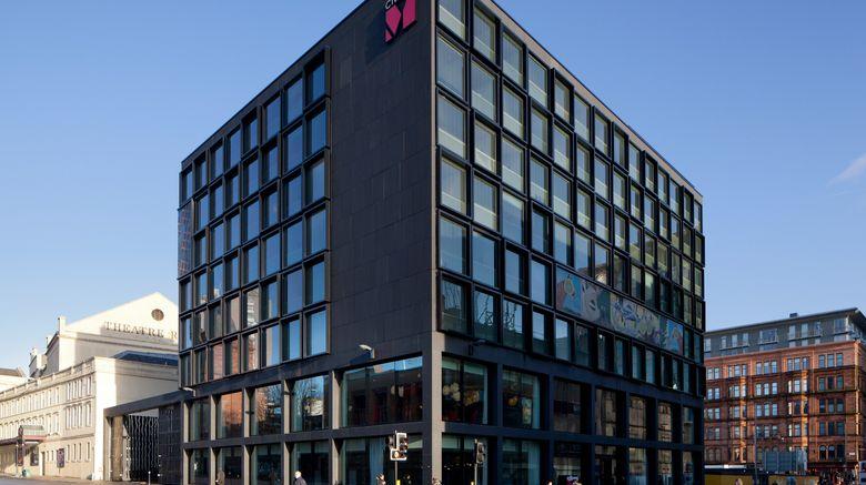 "citizenM Glasgow Exterior. Images powered by <a href=""http://www.leonardo.com"" target=""_blank"" rel=""noopener"">Leonardo</a>."