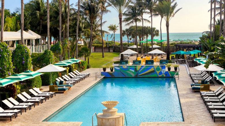 "Surfcomber Hotel by Kimpton Exterior. Images powered by <a href=""http://www.leonardo.com"" target=""_blank"" rel=""noopener"">Leonardo</a>."