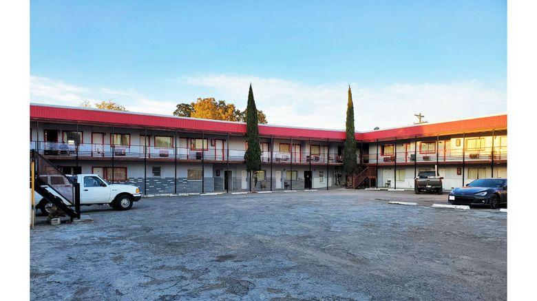 "OYO Hotel Alpine TX near University Exterior. Images powered by <a href=""http://www.leonardo.com"" target=""_blank"" rel=""noopener"">Leonardo</a>."