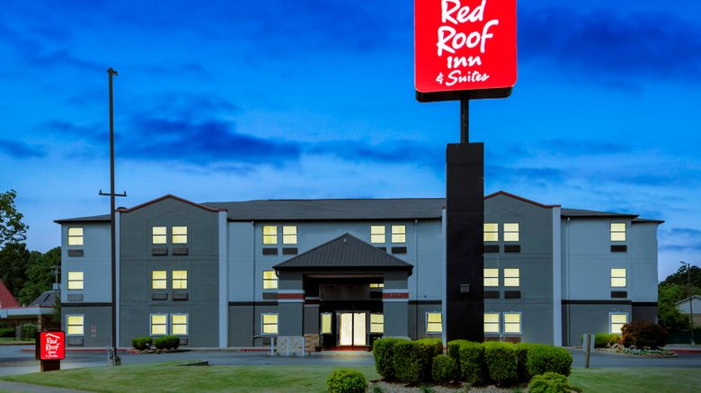 """Red Roof Inn  and  Suites Little Rock Exterior. Images powered by <a href=""""http://www.leonardo.com"""" target=""""_blank"""" rel=""""noopener"""">Leonardo</a>."""