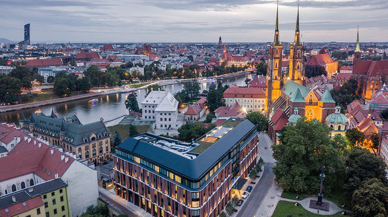"""The Bridge Wroclaw by MGallery Exterior. Images powered by <a href=""""http://www.leonardo.com"""" target=""""_blank"""" rel=""""noopener"""">Leonardo</a>."""