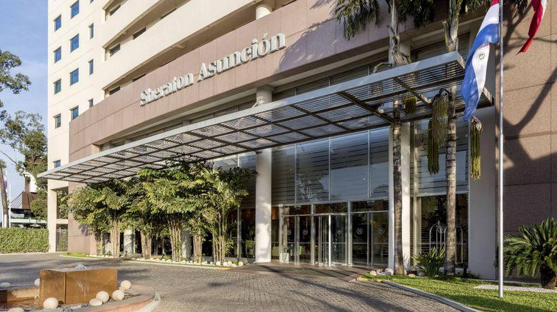 "Sheraton Asuncion Hotel Exterior. Images powered by <a href=""http://www.leonardo.com"" target=""_blank"" rel=""noopener"">Leonardo</a>."