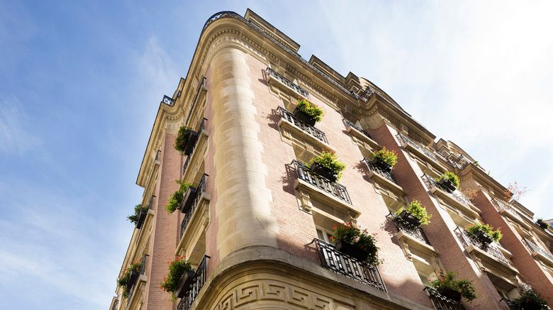 "Ares Eiffel Hotel Exterior. Images powered by <a href=""http://www.leonardo.com"" target=""_blank"" rel=""noopener"">Leonardo</a>."