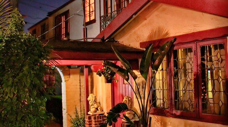 "Santa Cruz Inn Riverside Exterior. Images powered by <a href=""http://www.leonardo.com"" target=""_blank"" rel=""noopener"">Leonardo</a>."