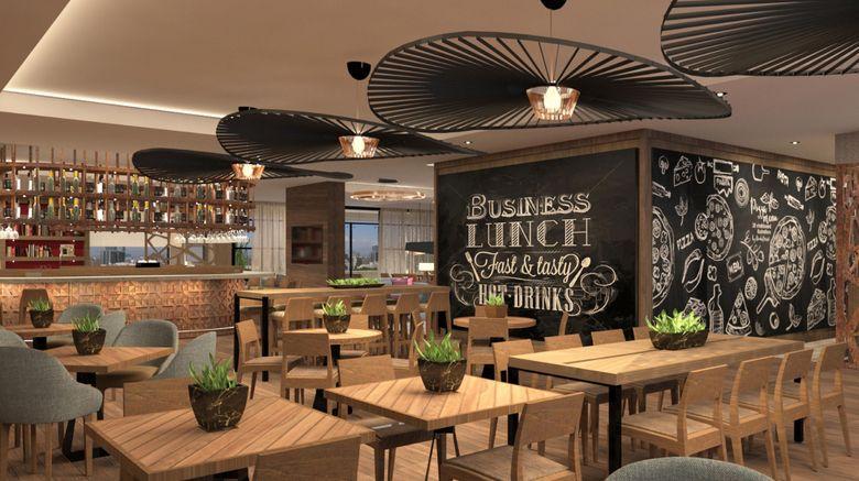 """Residence Inn Bogota Restaurant. Images powered by <a href=""""http://www.leonardo.com"""" target=""""_blank"""" rel=""""noopener"""">Leonardo</a>."""