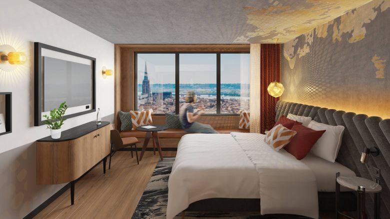 "Renaissance Bordeaux Hotel Room. Images powered by <a href=""http://www.leonardo.com"" target=""_blank"" rel=""noopener"">Leonardo</a>."